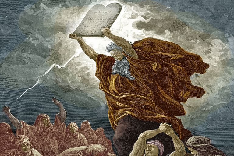 10 Commandments + Moses